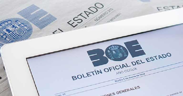 Información de interés sobre el polvo de sílice publicada en el BOE